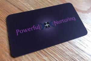 Powerful Nurturing business card front